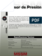 Sensor de Presion