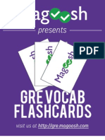Magoosh Vocab Flashcard eBook
