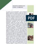 Punto de Vista Personal Sobre El Material de Las Nativos e Inmigrantes Digitales