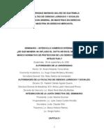 De Que Manera Ha Influido El CAFTA-DR en El Mejoramiento Del Marco Normativo de Proteccion de Los Derechos de Propiedad Intelectual