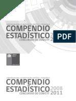 COMPENDIO ESTADISTICO CONICYT-2008-20111