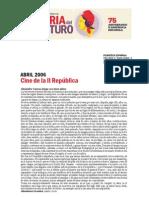 Ciclo Cine II Republica