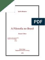 A Filosofia No Brasil - Sylvio Romero