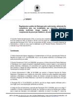 RESOLUÇÃO CFN 525 - REGULAMENTA A PRESCRIÇÃO DE FITOTERÁPICOS PELO NUTRICIONISTA