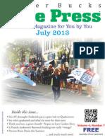 Upper Bucks Free Press • July 2013