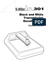 301-30 BW Densitometer Operation Manual