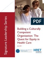 HRET Building a Culturally Competent Organization