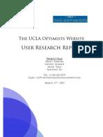 UCLA Optimists Report