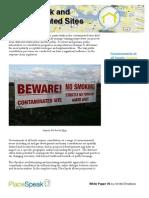 White Paper—PlaceSpeak and Contaminated Sites