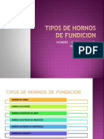 Tipos de Hornos de Fundicion