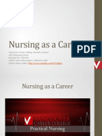 Nursing as a Career in BC Canada