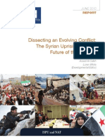 Dissecting an Evolving Conflict