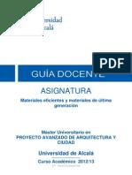 Guia Docente Materiales Efic y Ult Gen (Op) 12-13