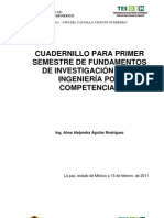 Cuadernillo Fundamentos de Investigacion Para Ingenieria