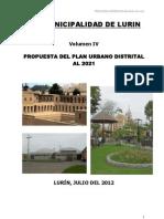 Plan de Desarrollo Urbano LURIN