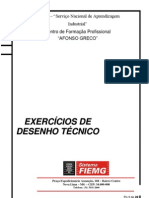 Exercicios de Desenho Mecânico