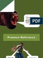 Pronoun Reference