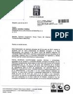 Carta al Concejo de Medellìn