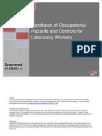 OHS WSA Handbook Laboratory Workers