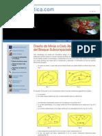 GEOESTADISTICA.COM _ DISEÑO DE MINAS algoritmo del bloque subcompactado