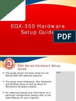 EGX-350 Hardware Setup Procedures