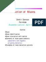 Denisov Lecture
