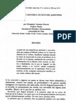 Giannini, Humberto - El pensamiento histórico de Bogumil Jasinowski