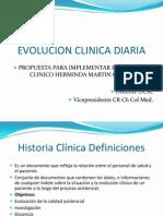 Evolucion Clinica Diaria