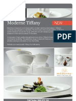 FEI Moderne Tiffany Chinaware