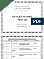 LAPORAN TAHUNAN 2012 -2