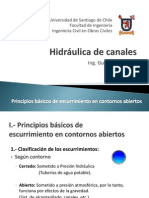 I.- Principios Basicos de Esc. en Contornos Abiertos