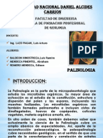 MICROPALEONTOLOGIA PALINOLOGIA