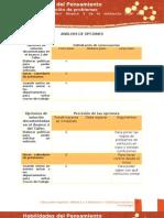HP Formato Opciones Metodos