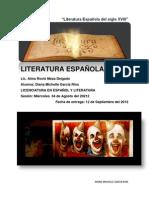 ACTIVIDAD 2 PROYECTO LITERATURA ESPAÑOLA
