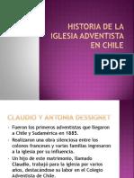 Historia de La Iglesia Adventista en Chile