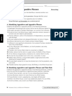 Appositive Phrases Worksheet
