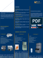 Catalogue of Mello Commercial Ice Makers 2013