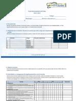 Formato Para Planes Escolares de Lectura 29 de Junio 2012