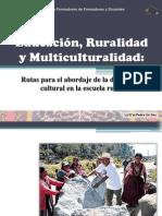 Educación, Ruralidad y Multiculturalidad _ 2012