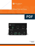 Atlona HDBaseT HDMI and DVI Extenders