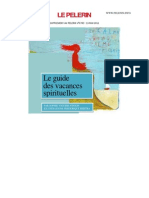 Supplement Pelerin Guide Vacances Spirituelles 2011