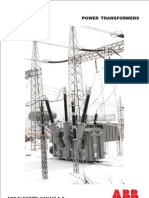 ABB Large Power Transformer Catalogue