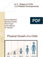 Physical Growth of a Child