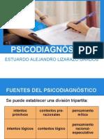 Psicodiagnóstico, concepto y metodología