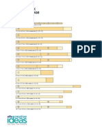 Platform Deck ProjectCutting Diagram