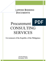 Philippine Bidding Docx on Consulting Services