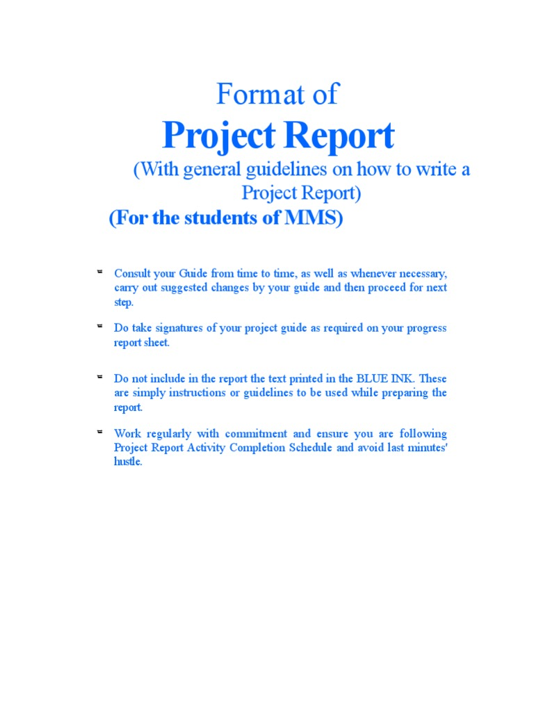 MMS Project Report Format[1] | Corporate Social Responsibility | Mergers  And Acquisitions