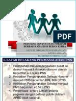 Pedoman Penyusunan Formasi Berbasis Abk (Bkn)
