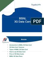 3G DataCard - Power Point