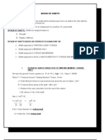 Solution on Design of Mechjanical Component Shaft